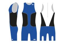 oSuit men's Blue / Black / White