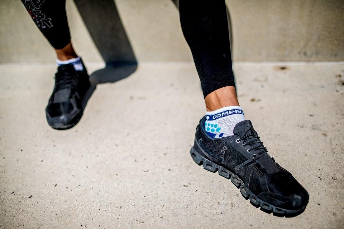 Běžecké nízké ponožky V3.0 černé T3  148b5edf6b