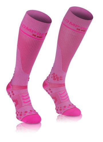 7981a938733 Kompresní podkolenky Full Socks V2.1 růžové 1S