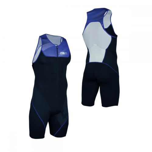 Start Trisuit Front Zip Armada Black/Blue