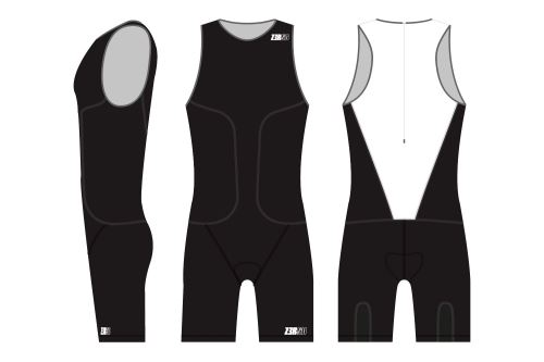 Kombinéza oSuit men's Black Series
