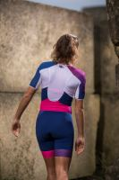 Racer TTSUIT WOMAN Dark blue/Pink