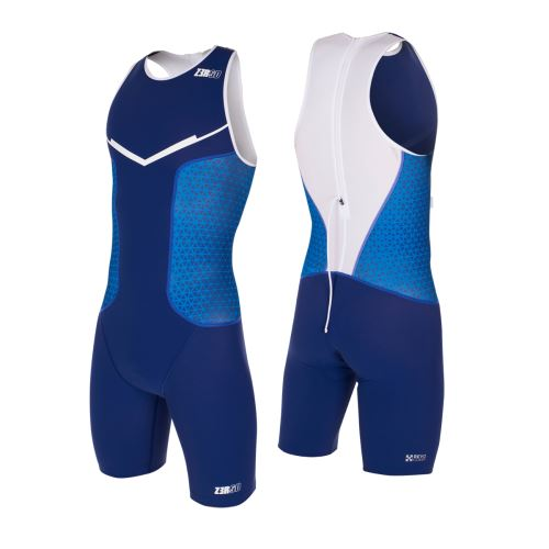 Racer TRISUIT MAN Dark blue/White