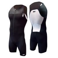 Start Trisuit Front Zip Black series