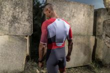 Racer TTSUIT MAN Grey/Red