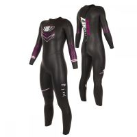 ATLANTE WOMAN Black/Fuchsia